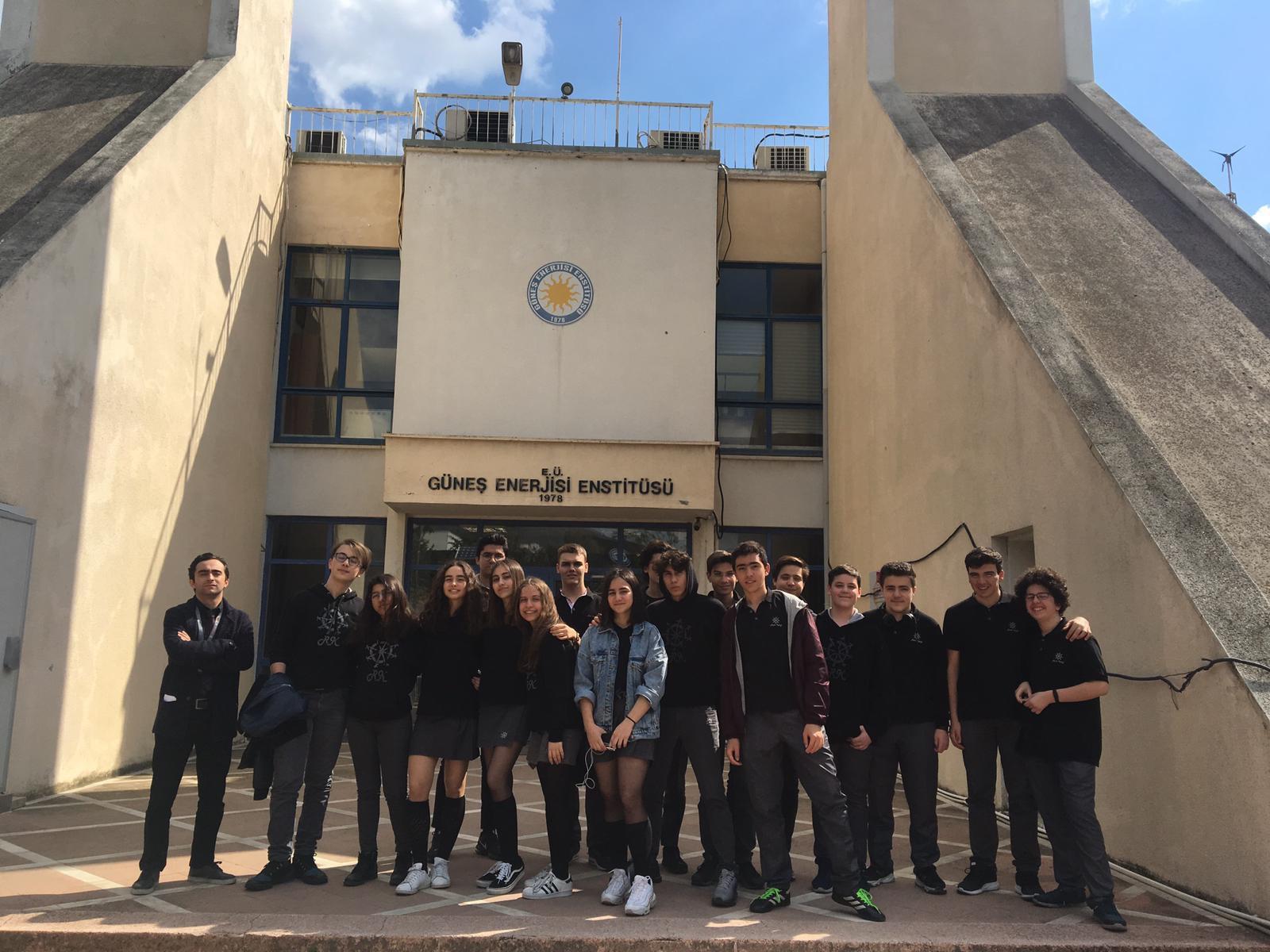 Güneş Enerjisi Enstitüsü Gezisi