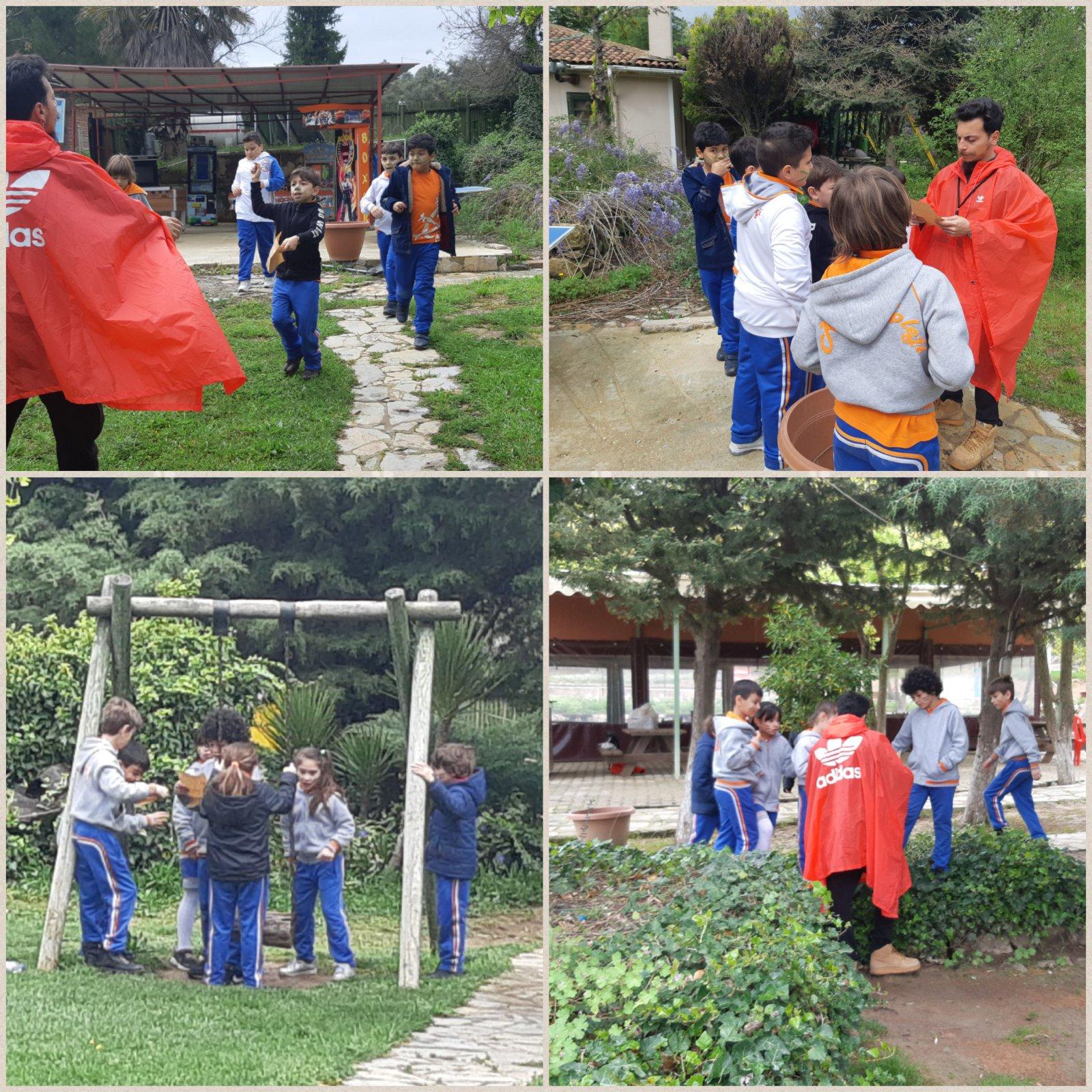 3. Sınıflar Macera Tepesinde