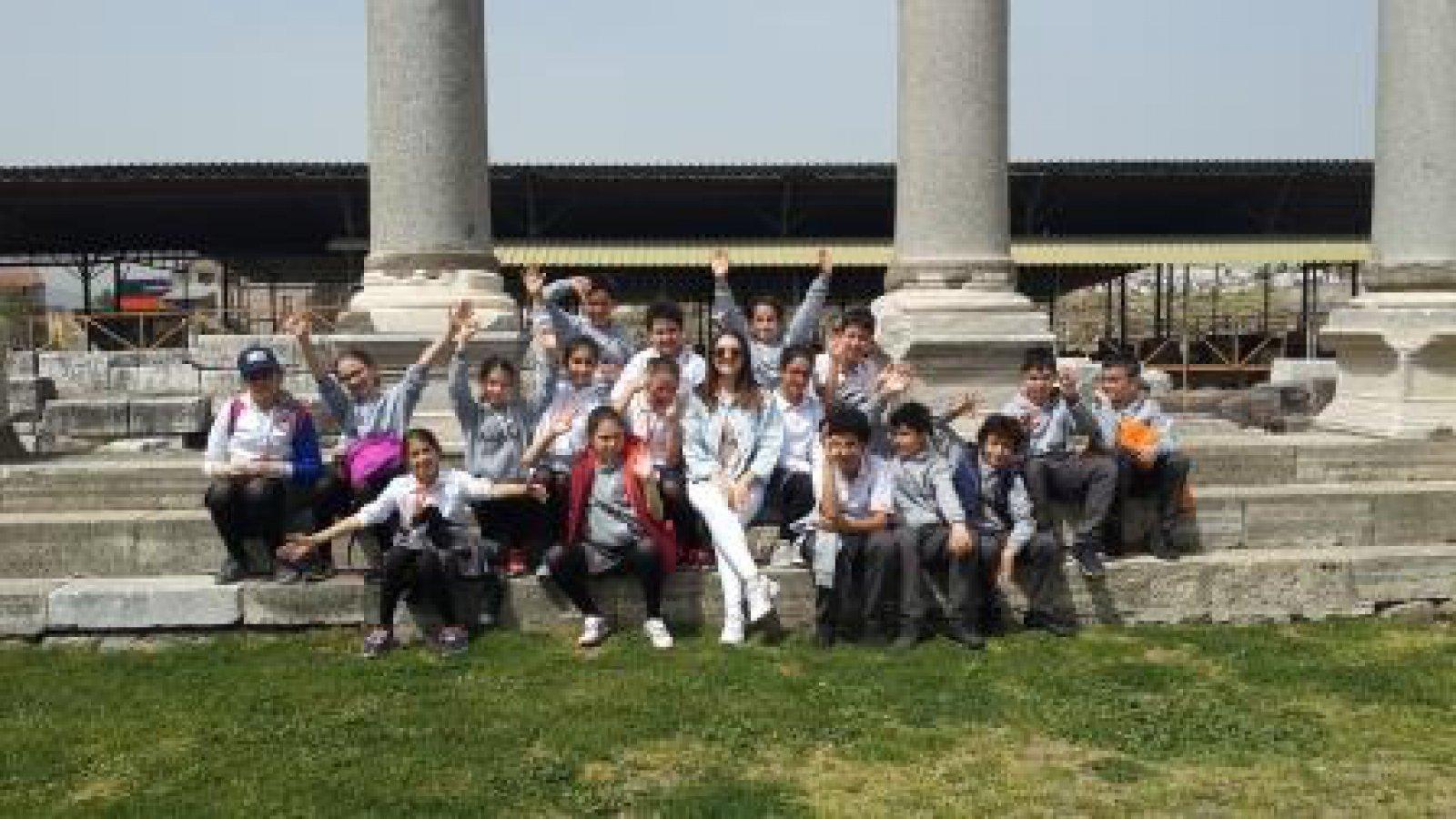 İzmir Konak Agora Antik Kent Gezisi