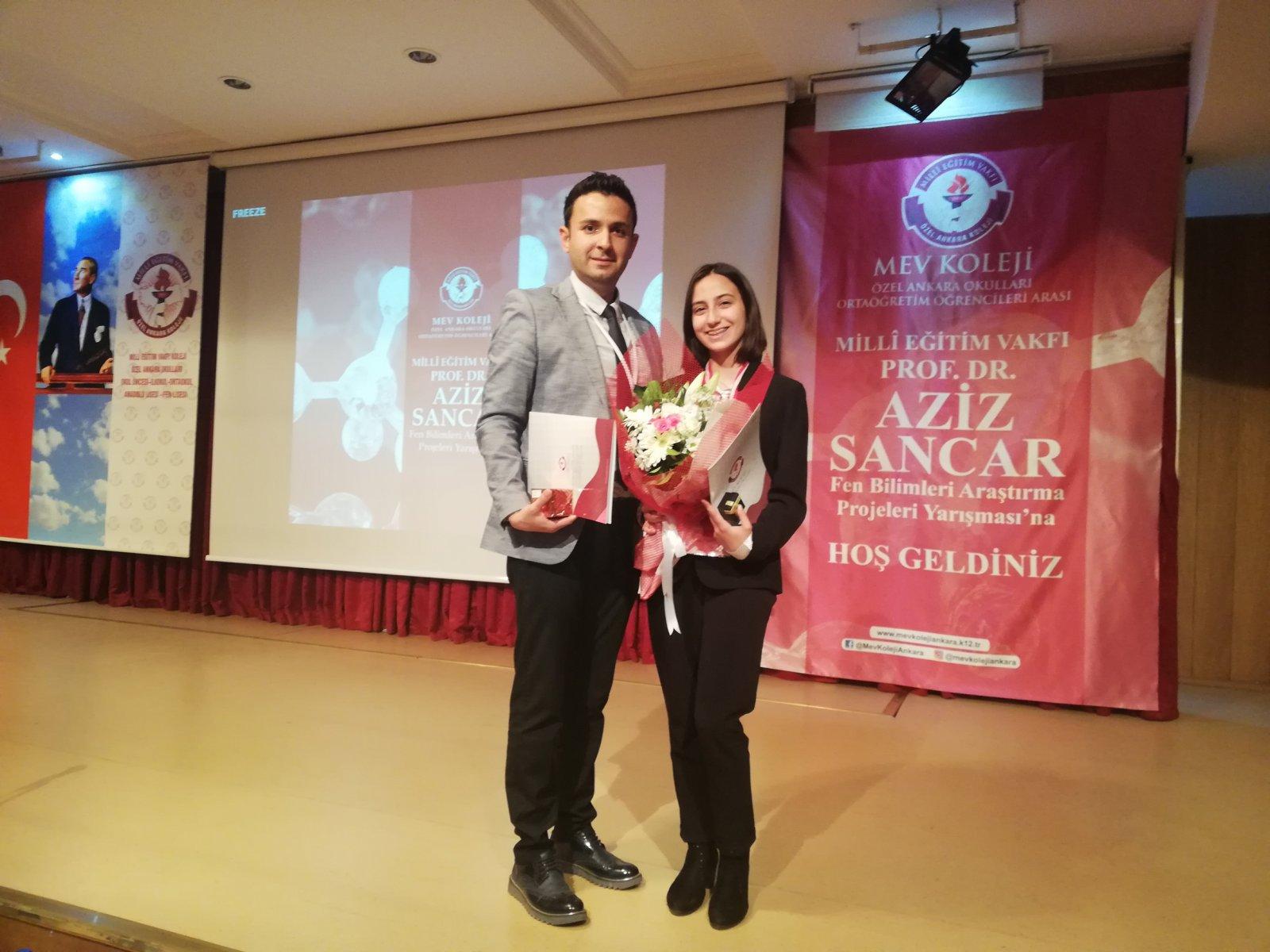 Milli Eğitim Vakfı Prof. Dr. Aziz Sancar Fen Bilimleri Araştırma Projeleri Yarışması