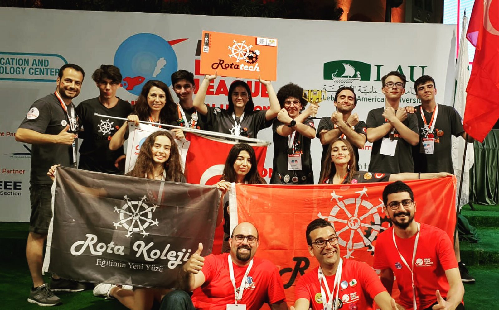 FLL (First Lego League) Avrupa Turnuvası