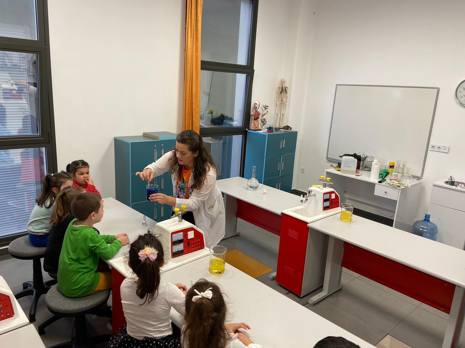 Bilim ve Teknoloji Haftası Gösteri Deneyleri