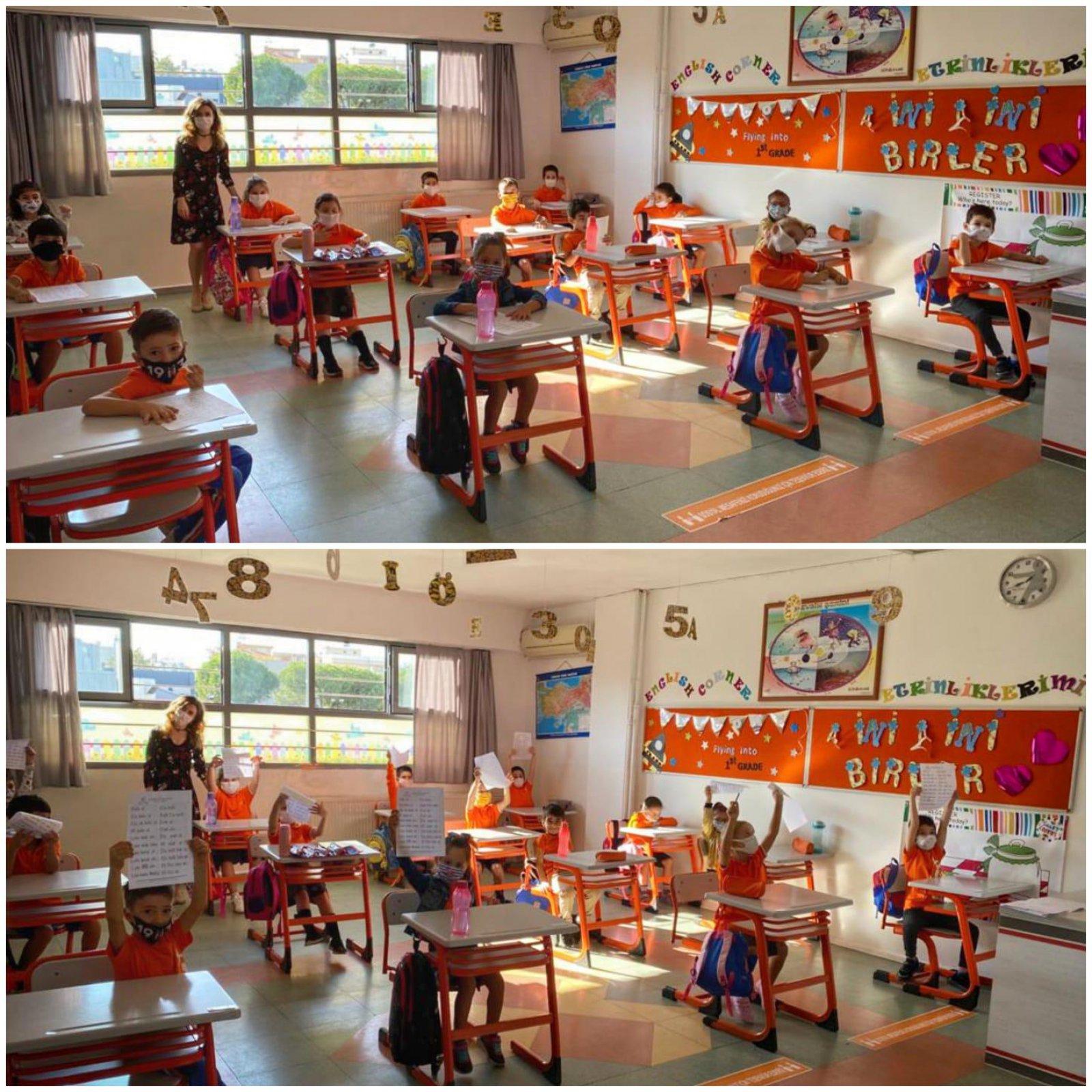 1.Sınıflar Okulda