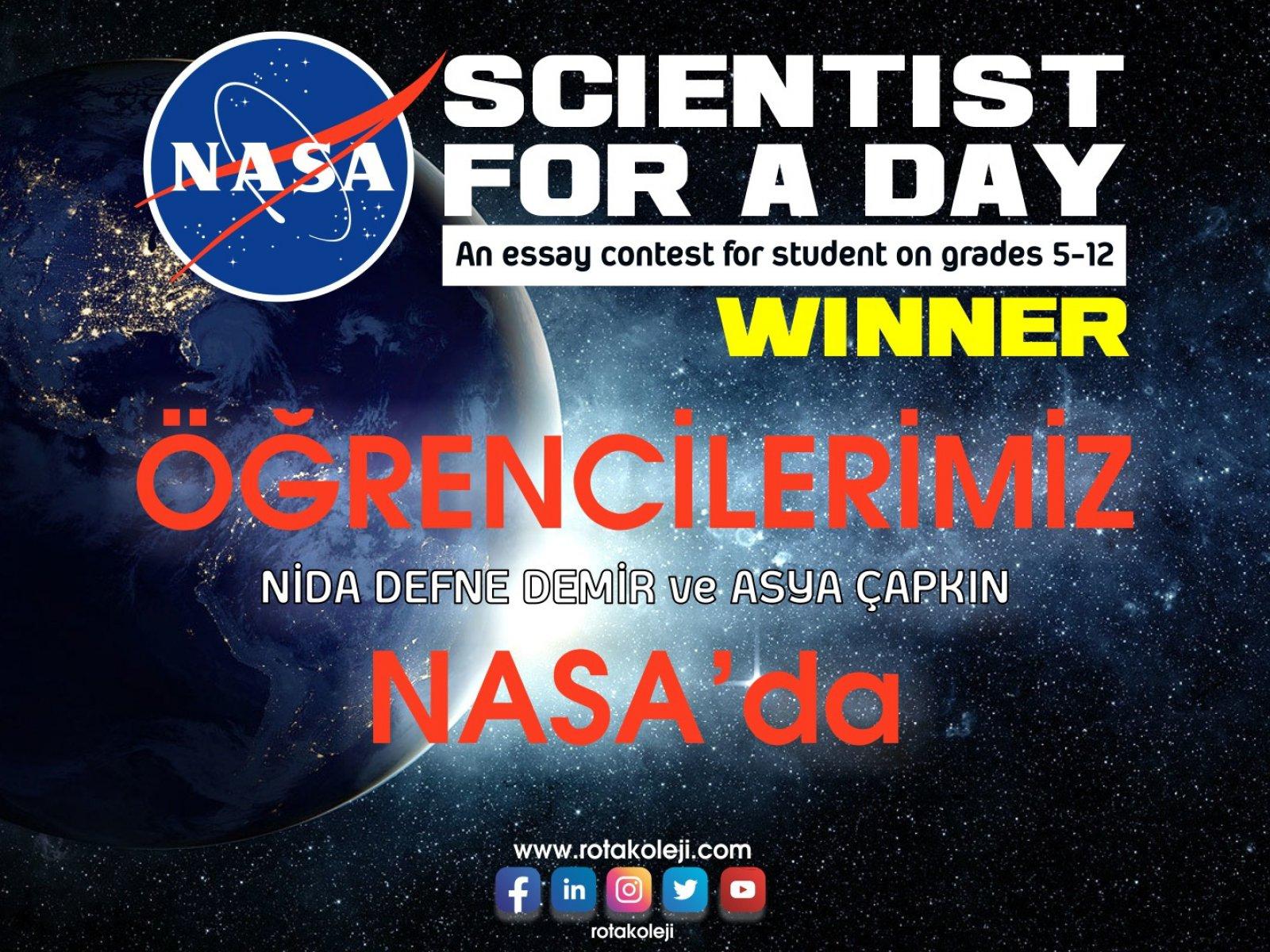 """""""Scientist for a Day"""" ile NASA'dayız"""